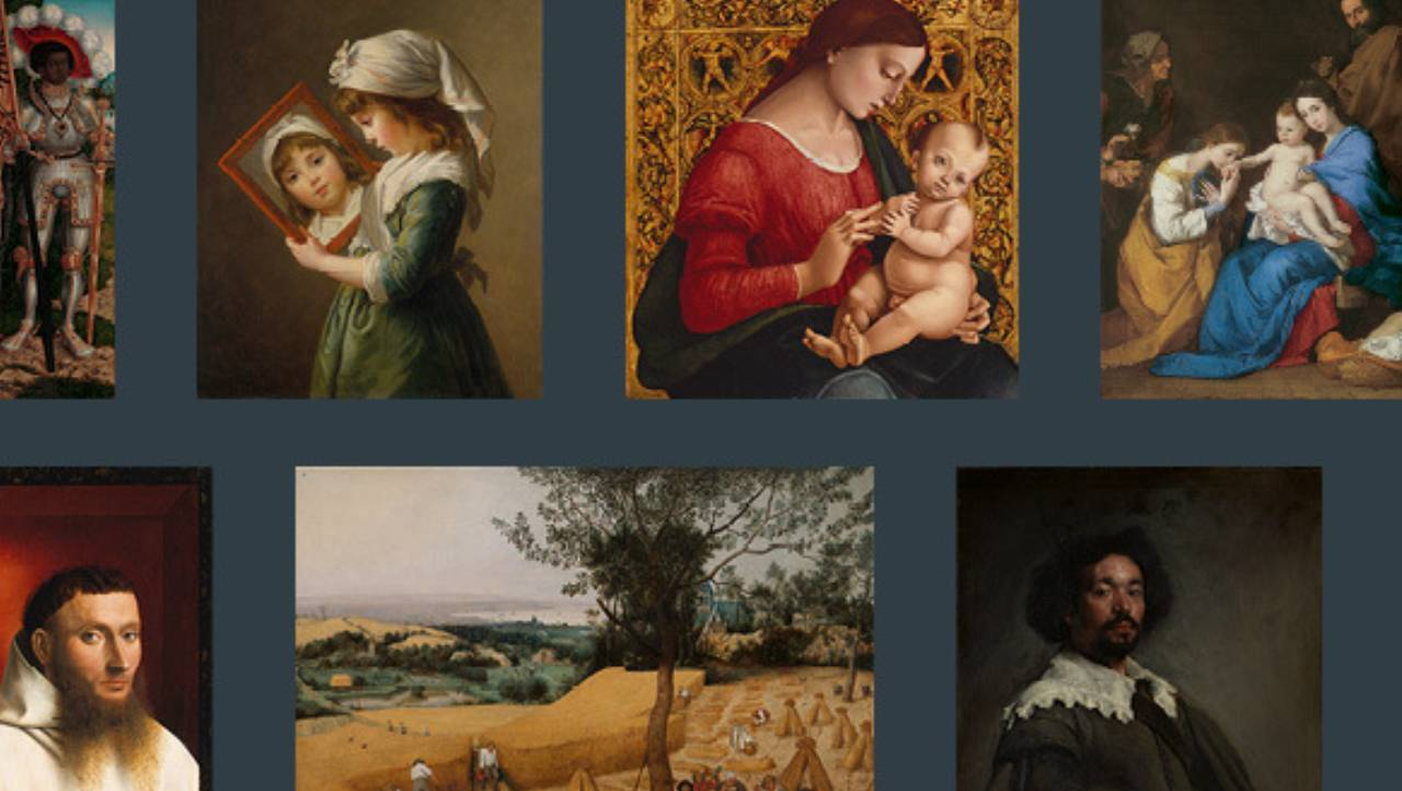 An array of European Paintings viewable at The Met Fifth Ave.