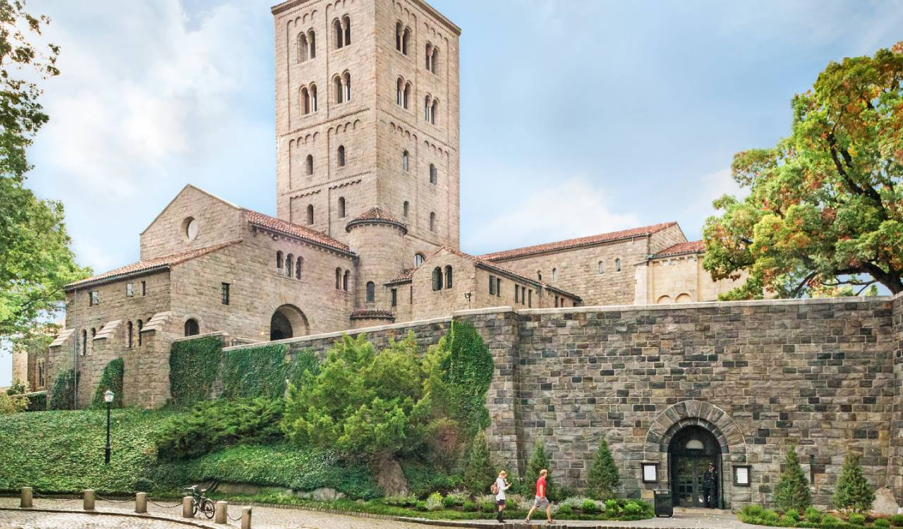 Image of the outsisde of The Met Cloisters.