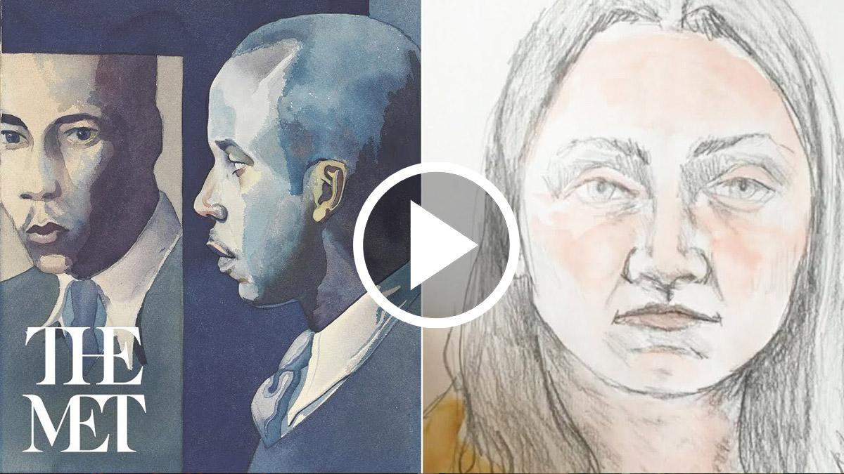 Drop-in Drawing: Portraiture