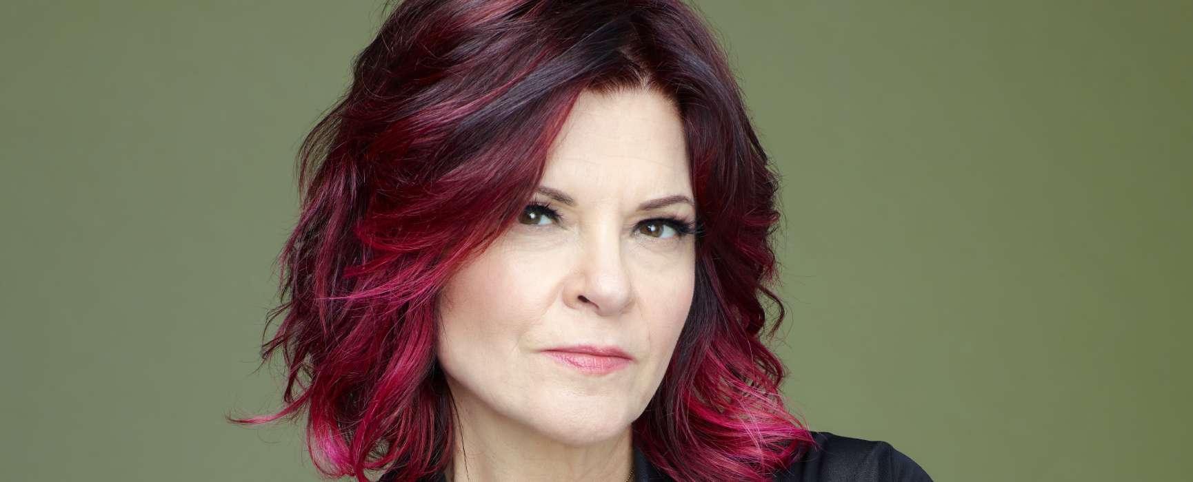 Image of singer-songwriter Rosanne Cash.