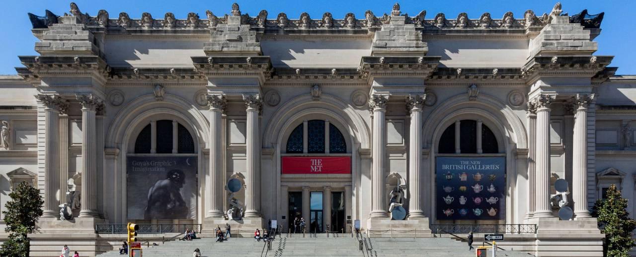 Facade of The Met Fifth Avenue.