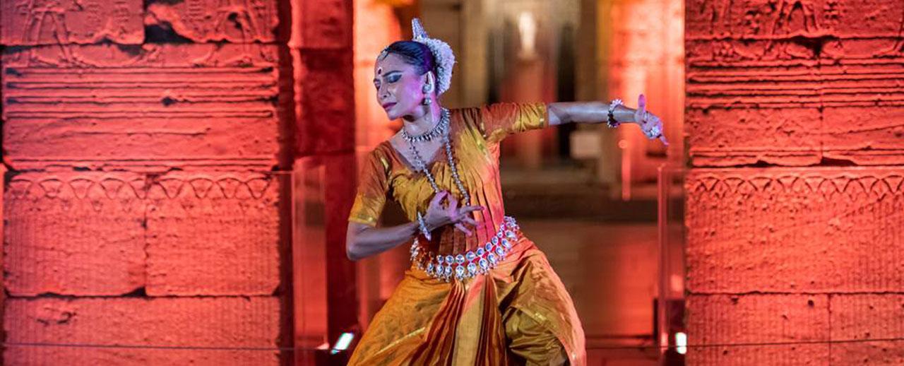 Dancer and choreographer, Bijayini Satpathy performing