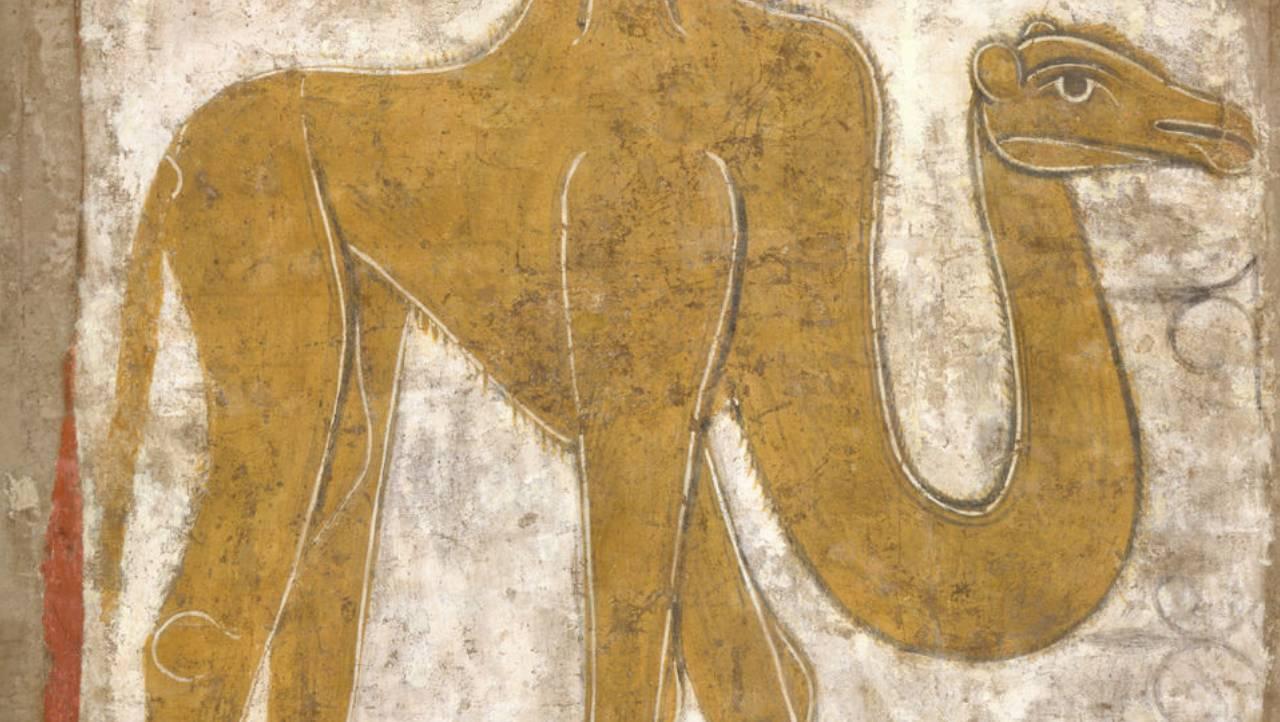 Detail of Spanish Camel fresco