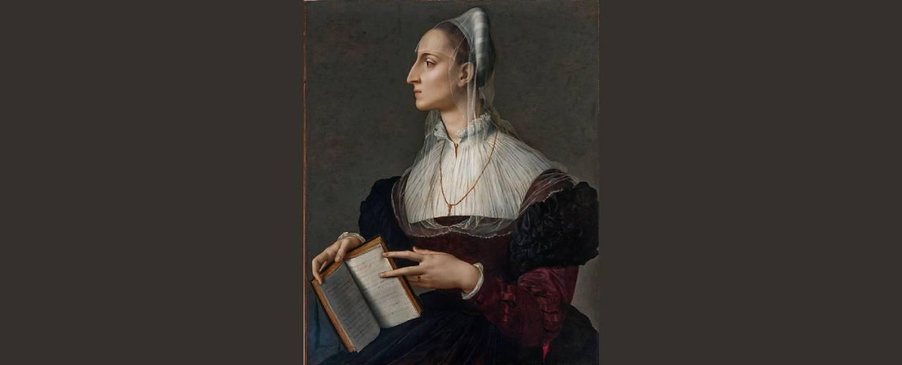 Bronzino's iconic portrait of the celebrated poet Laura Battiferri